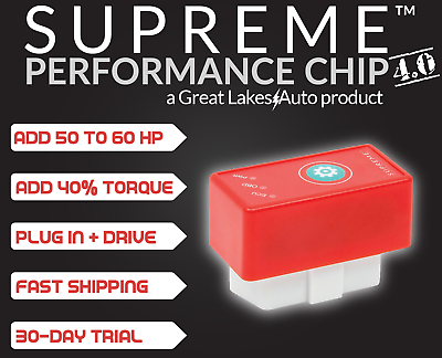 High-Performance Tuner Chip and Power Tuning Programmer Boost Horsepower and Torque Fits Cadillac DeVille