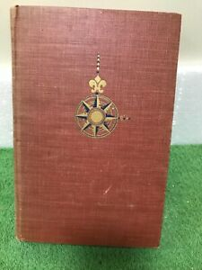 Christopher Columbus Admiral of the Ocean Sea w/ Fold-Out Map 1942 S E Morison