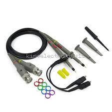 2pcs P6100 100mhz Oscilloscope Scope Clip Probe 100mhz For Tektronix Hp