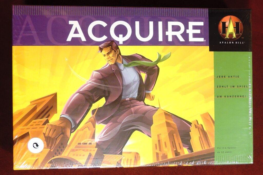 ACQUIRE - Kultspiel von Sid Sackson - Avalon Hill - Hasbro 41305 - NEU in OVP