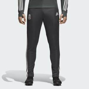 adidas-Men-039-s-Soccer-Mexico-Training-Pants-Joggers-Utility-Black-Medium-NWT