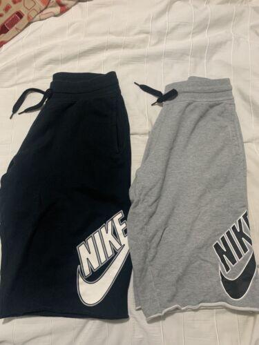 nike sweat shorts xl
