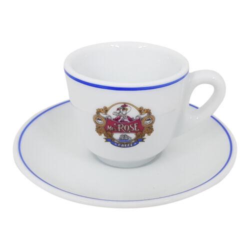 Rose Espressotasse Classic mit Unterteller Mrs Caffe Milano