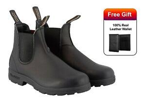 Blundstone-510-Stivali-in-Pelle-Premium-Nero-non-sicurezza-Chelsea