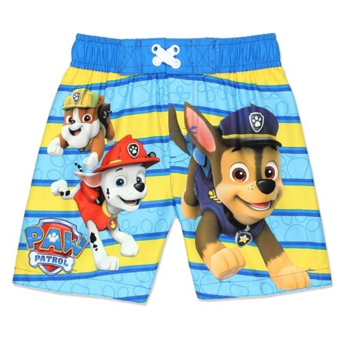 Paw Patrol Boy/'s Swim Trunks Bathing Suit Toddler Sizes 2T 3T 4T