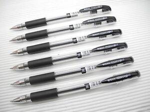 12-x-M-amp-G-AGP10701-MarcoPol-0-5mm-Extra-Fine-Roller-Ball-Gel-Pen-BLACK