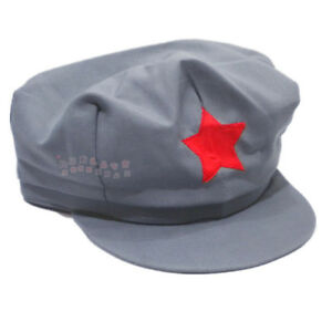 WW2 Army Hats Chinese Red Army Militaire Military Cotton