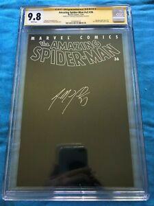 Amazing-Spider-Man-v2-36-Marvel-CGC-SS-9-8-NM-MT-Signed-by-Straczynski