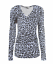 Womens-Ladies-Girls-Plain-Long-Sleeve-V-NECK-T-Shirt-Top-Plus-Size-Tops-Shirt thumbnail 5