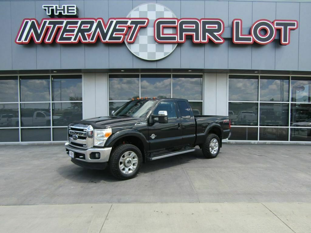 2013 Ford F-350 4WD SuperCab 142