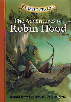 1 of 1 - The Adventures of Robin Hood (Classic Starts)-ExLibrary