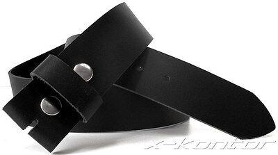 Bucklegürtel Wechselgürtel Gürtel für Buckle 5 cm breit Ledergürtel