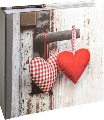 Einsteckalbum Hearts II 200 Fotos 10x15 cm
