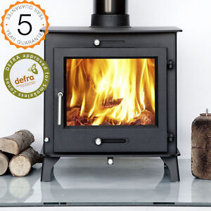 Defra 12kw Ottawa Clean Burn Contemporary Woodburning