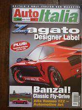 Auto Italia magazine Mar 00 Fiat 131 Abarth Zagato Alfa TZ3 Ferrari 308 Maserati