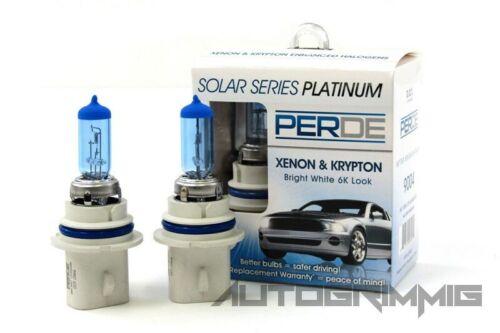 Perde Xenon HID 9007 6000K Super White Headlight Bulbs High Beam Light Bulb 65W