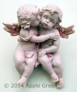 Guardian-Angel-Cherub-Sitting-Kissing-Figure-Engagement-Wedding-Anniversary-New