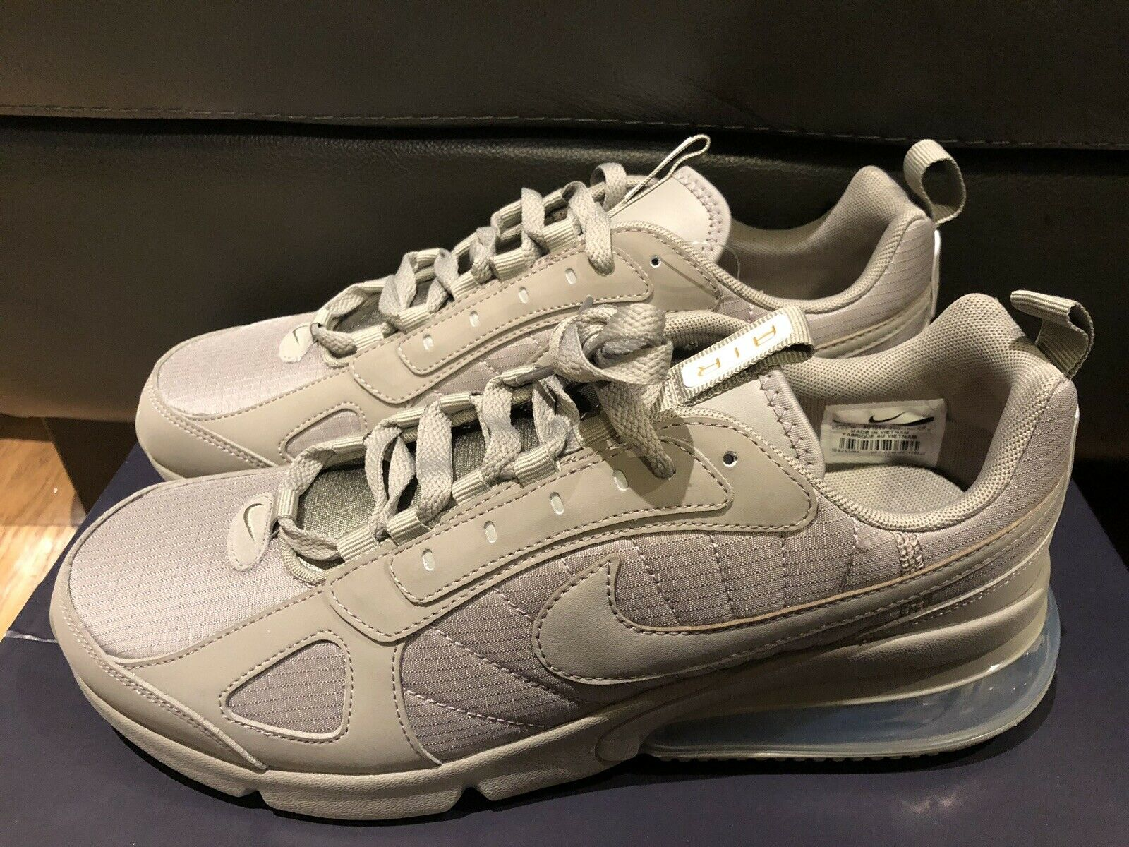 Nike Mens Air Max 270 Future Running shoes Sneaker Sz Sz Sz 10 New AO1569-001 Beige 83690b