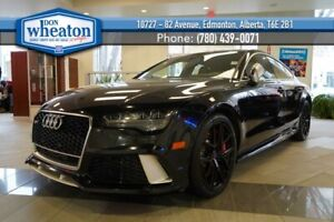 2016 Audi RS7 AWD 560HP 4.0L V8 Twin Turbo Sunroof Nav Heated Leather