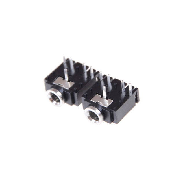 10X 3.5mm Female 5 Pins Stereo Headset Interior PCB Mounts Audio Jack Socket Pip