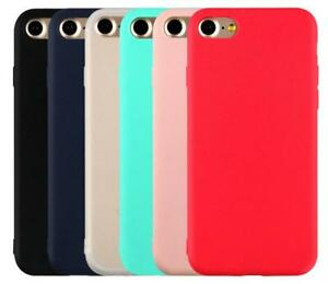 Details about iphone 7 iphone 7 plus matte silicone soft tpu cover case set of 6 colors 8 8
