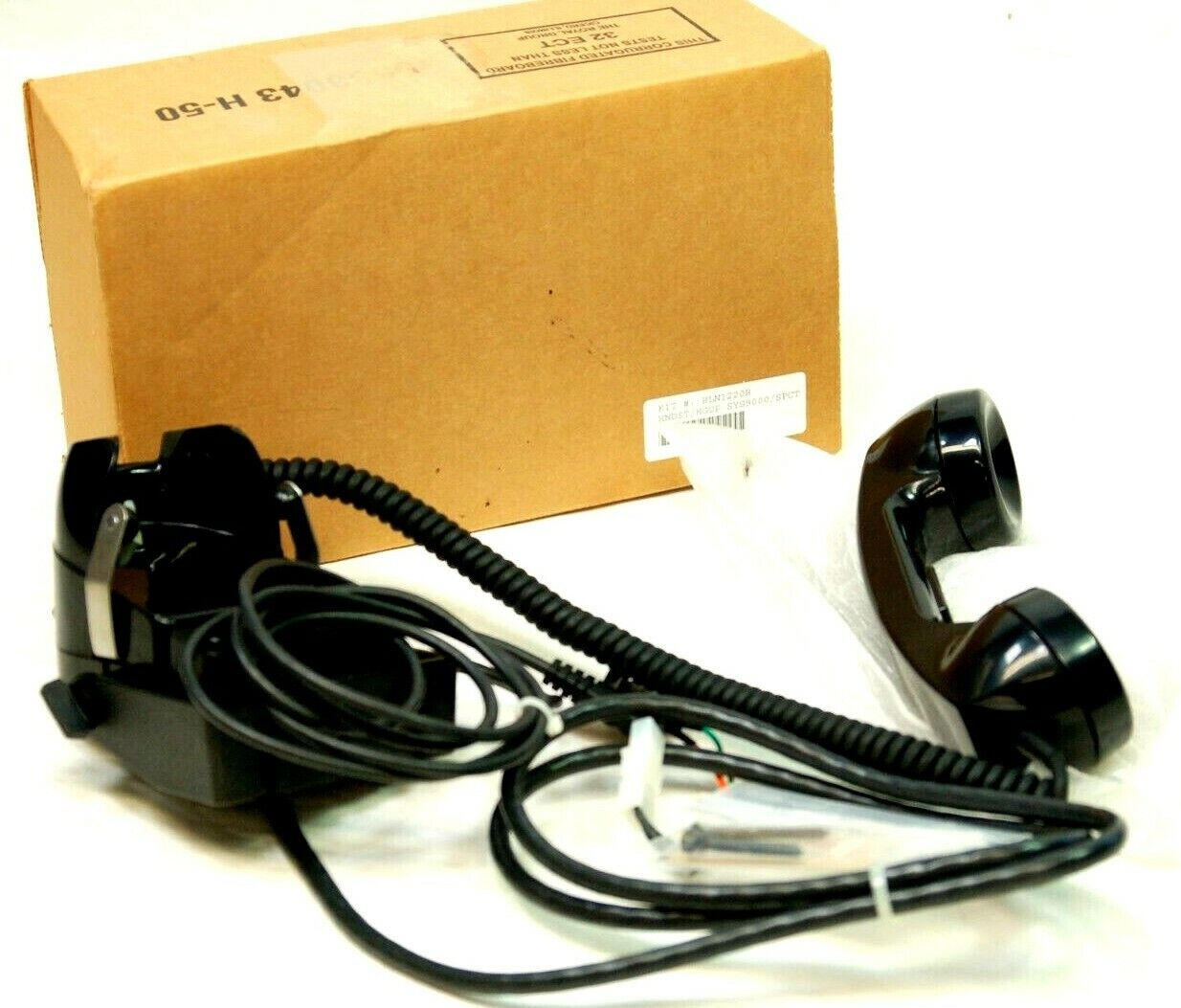 Motorola HLN1220B Handset with Cradle Fits Maratrac Syntor, Spectra. Available Now for 94.99