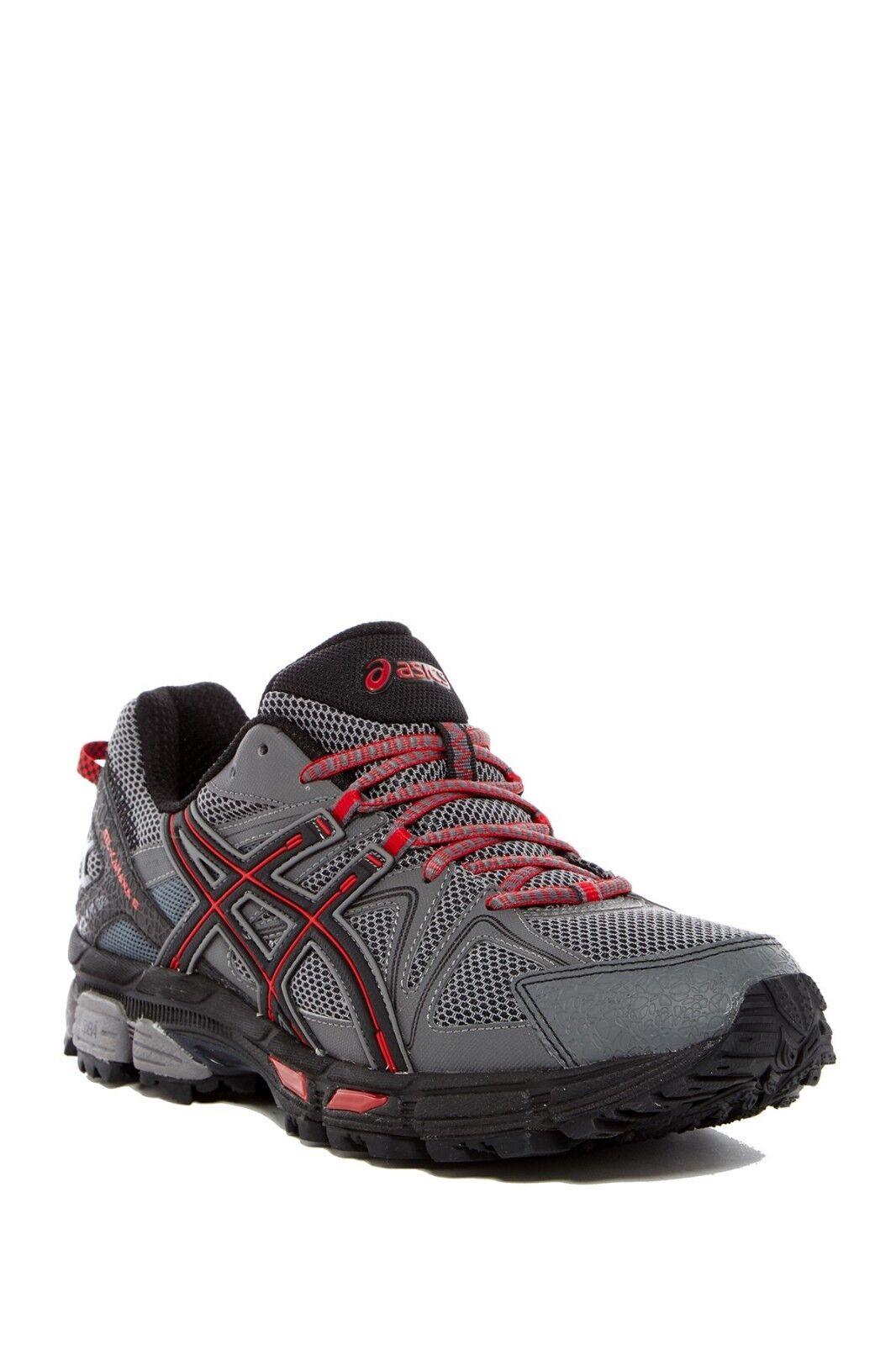 Mens ASICS NEW Gel BLACK RED TRUE SHARK 11 5 Sz shoes