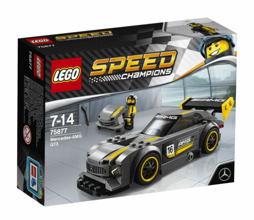 LEGO 75877 Speed Champions MERCEDES AMG GT3 set New Factory Sealed Retired