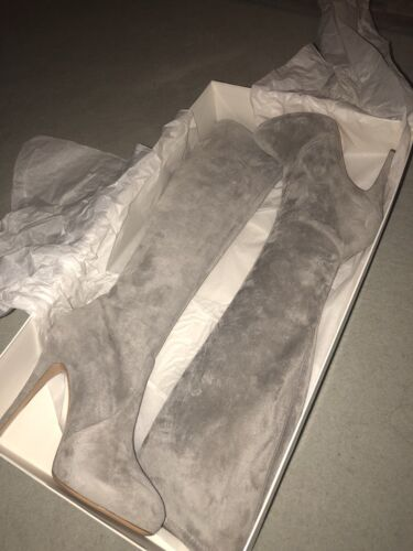 Beige Suede Boots stone New Brand Casadei Heeled 5zwqn6F0