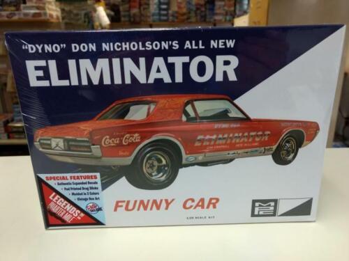 "MPC 889 /""Dyno/"" Don Nicholson/'s All New Eliminator Funny Car model kit"
