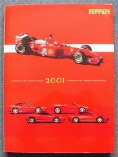 FERRARI Official Year Book 2001 Formula One Maranello