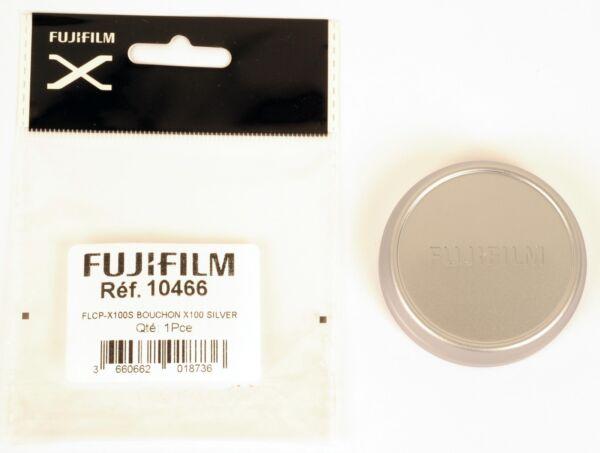 Infatigable Fuji Bouchon D'objectif Aluminium Silver Pour X100, X100s, X100t, X100f Non Repassant