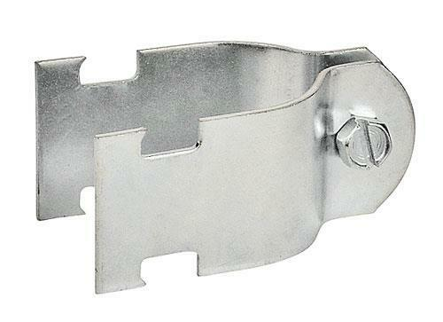 """316SS Set of 5 1/"""" Two Piece Rigid Conduit Stainless Steel Strut Clamp"""