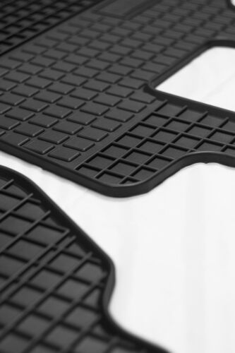 542964 Gummimatten Gummifußmatten  Matten 4-tlg Fiat Punto 2012-