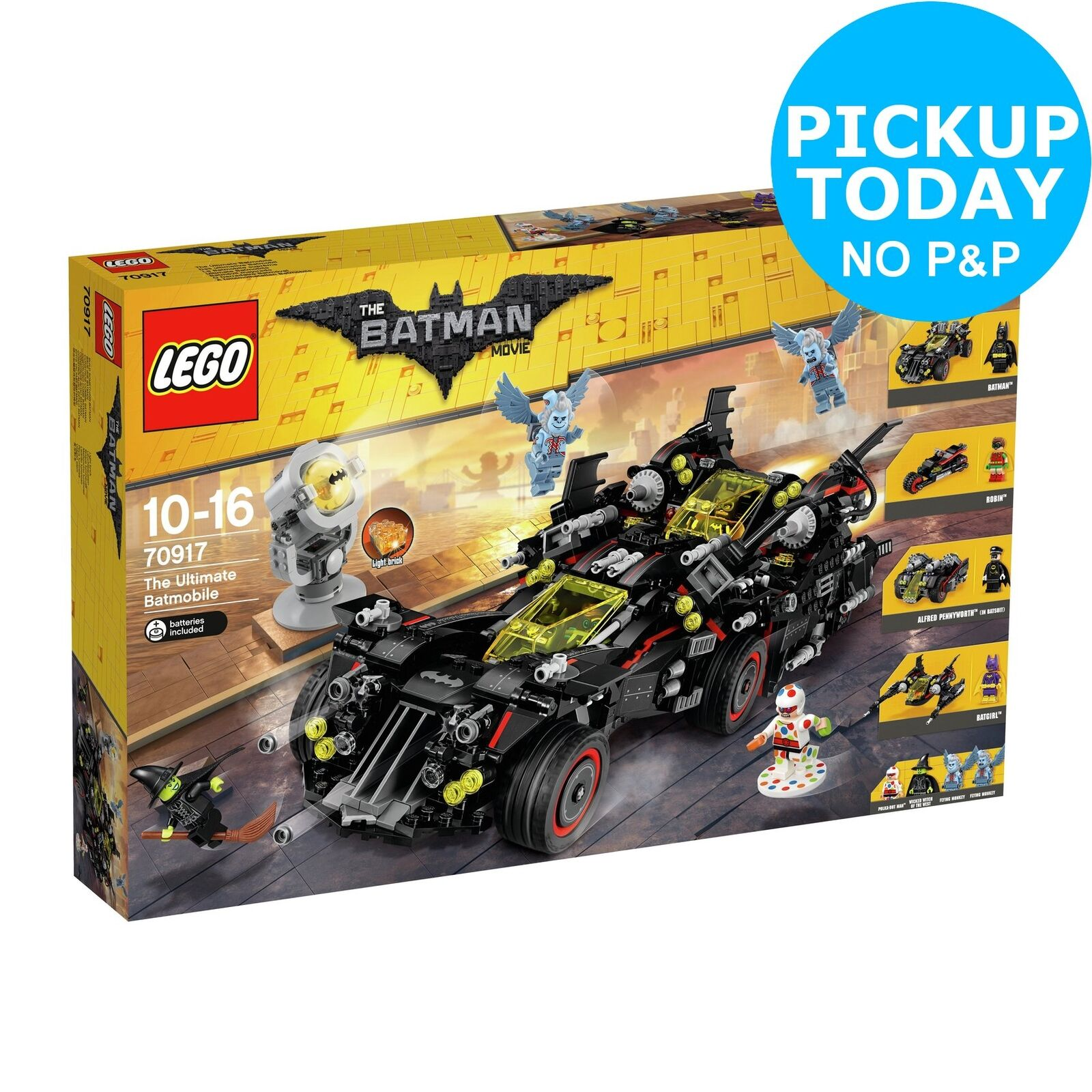 LEGO The Batman Movie Ultimate Batmobile Playset 10+ Years - 70917