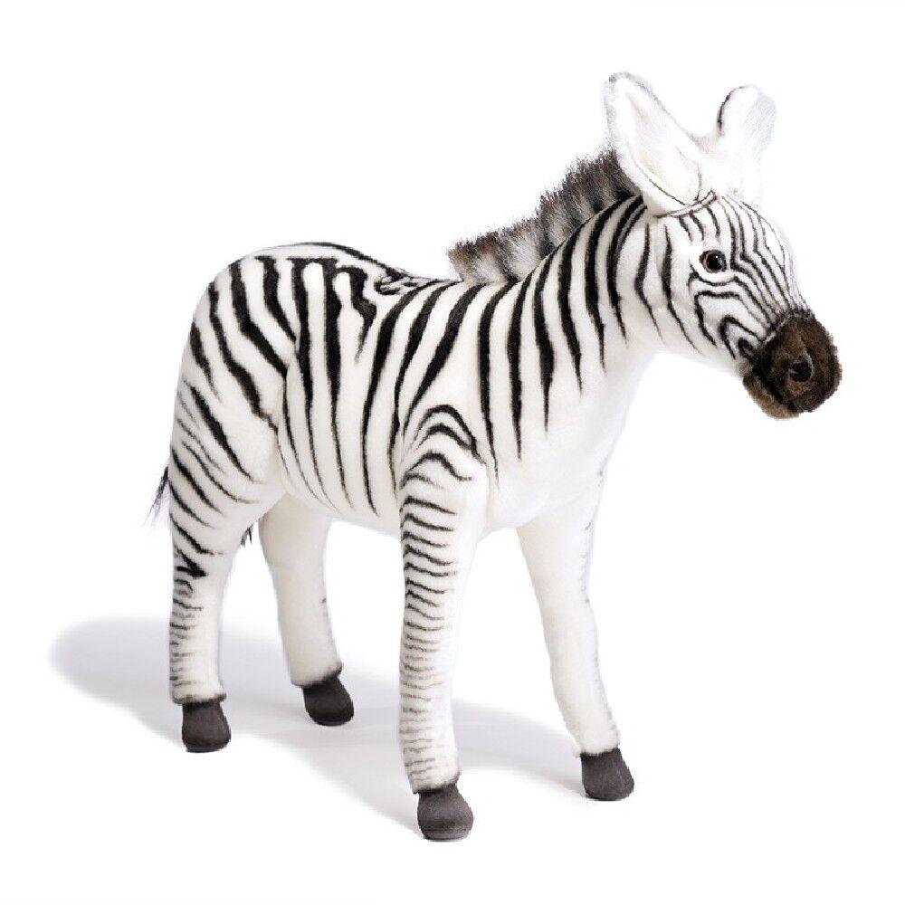Peluche Zebra 41 Cm Peluches Realistici Hansa PS PS PS 12109  la calidad primero los consumidores primero