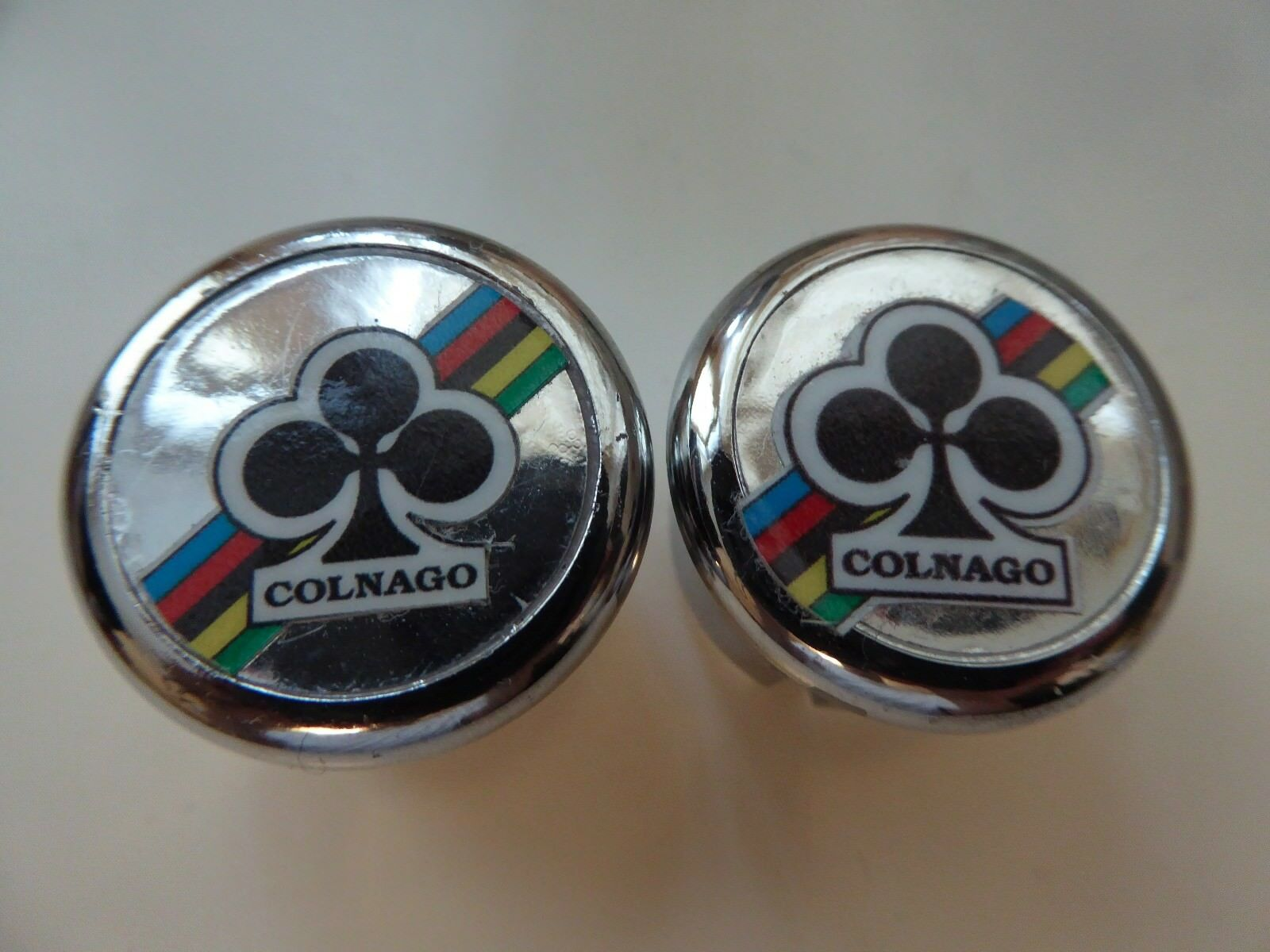 Vintage NOS  Classic  Colnago World Champion Handlebar End Plugs  wholesale prices