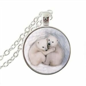 Courageux Collar Camafeo Animal Polar Bear Oso Blanco Collar Rabbit Anime Manga