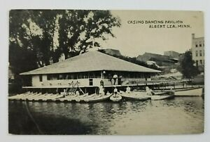 Postcard-Casino-Dancing-Pavilion-Albert-Lea-Minnesota-1912