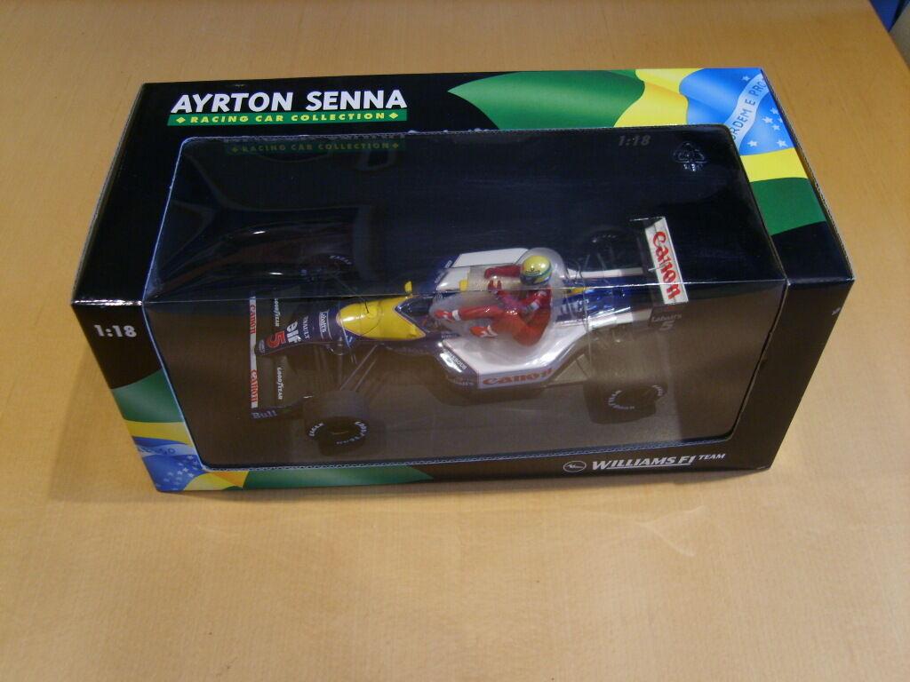 Fuxi double à, viens! MINICHAMPS Nigel Femmesell Ayrton Senna Taxi FW14 1:18   à La Mode    Outlet Shop En Ligne