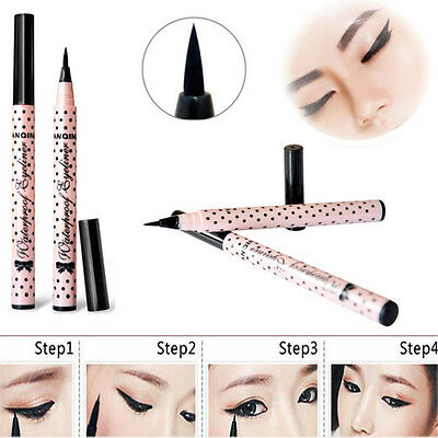 HOT Elegant Black Eyeliner Waterproof Liquid Eye Pencil Make Up Beauty Comestics