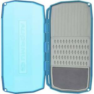 Umpqua Light Mini Waterproof Fly Box bleu See-Through Lid