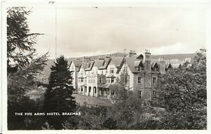 Details about Scotland Postcard - The Fife Arms Hotel - Braemar - Aberdeen  - Real Photo A5092