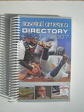 2007 Baseball America Directory-Detailed Info on Baseball in all Leagues &Levels