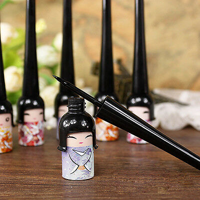 Cute Black Waterproof Liquid Eye Liner Pen Makeup Cosmetic NoWRRL