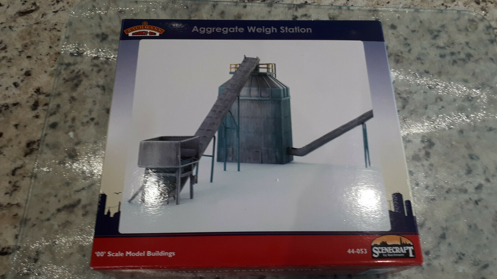 Bachmann Scenecraft 44-053 Cement Concrete Aggregate Weigh Station OO Gauge