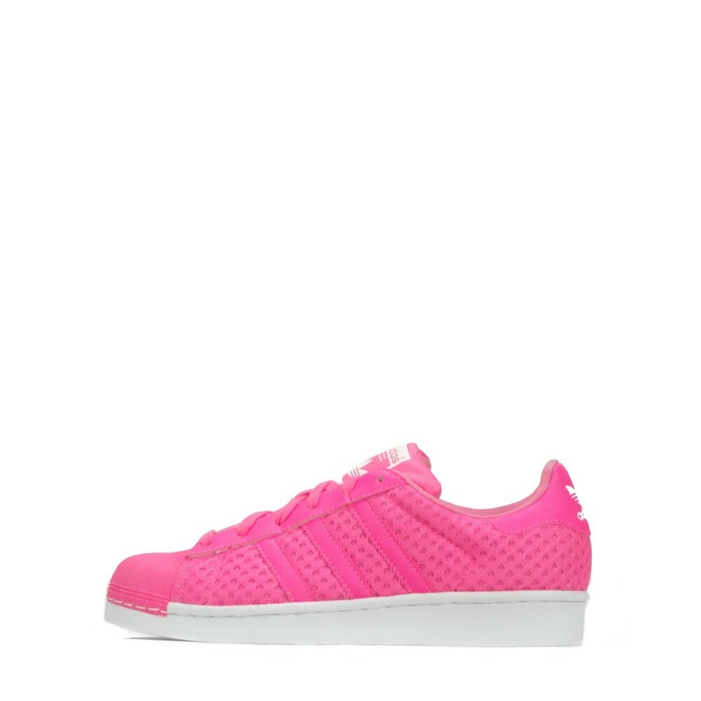 ADIDAS ORIGINALS SUPERSTAR rose été femmes chaussures rose SUPERSTAR / Blanc b7871e