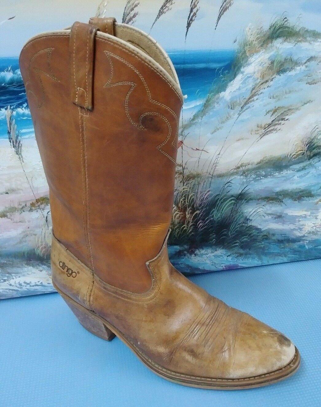 Dingo USA Men's Cowboy Boots Style 5907 Sz 10.5D