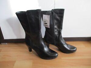 Details zu Tamaris Wunderschöne Stiefeletten Kurzschaft Stiefel schwarz Gr. 41 NEU!