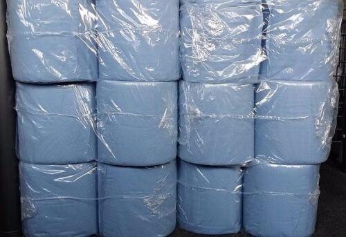 12 x Putztuch 20 30 2 Putztücher Papier-Rolle blau Putzpapier Neu
